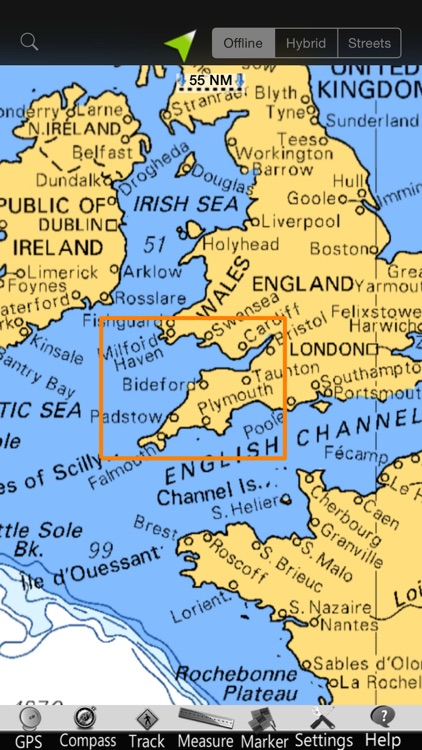 England SW GPS Nautical Charts screenshot-4