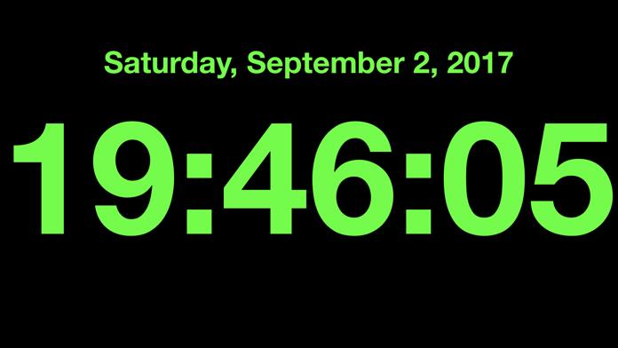 ClockZ | Clock Display + Alarm Screenshot