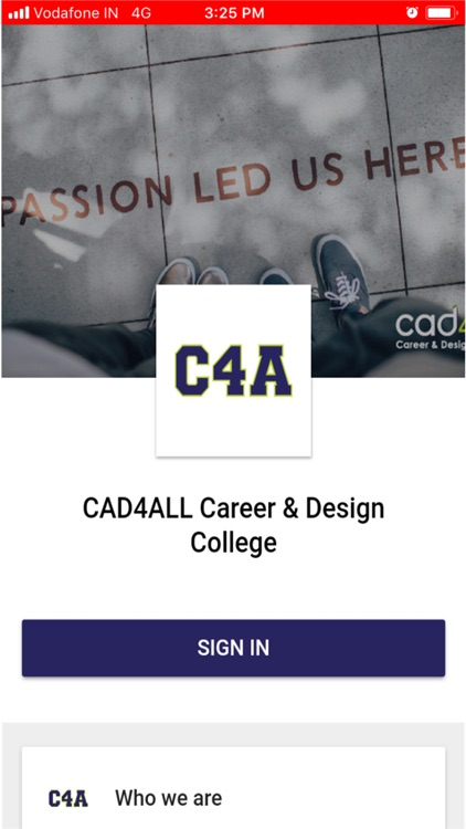 CAD4ALL Mobile App