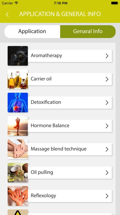 Essential Oils Reference Guide App screenshot-4