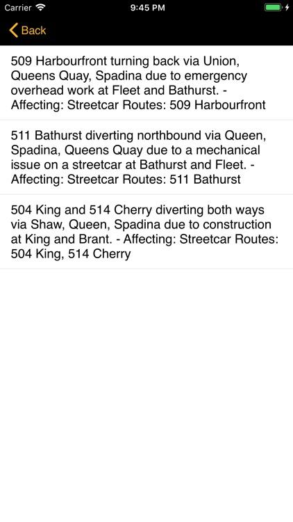 TTC Bus Map screenshot-4