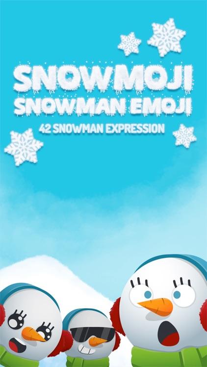 Snowmoji - Snowman Emoji