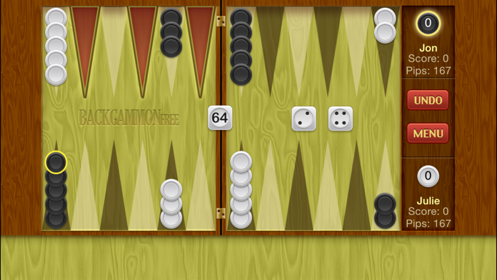 Backgammon ∙ Screenshot