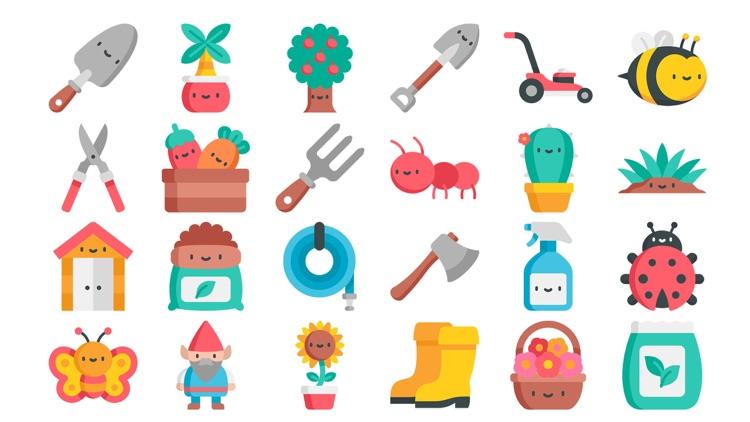 Gardening Stickers.