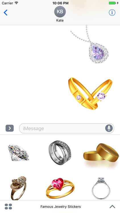 Famous Jewelry Stickers screenshot-3