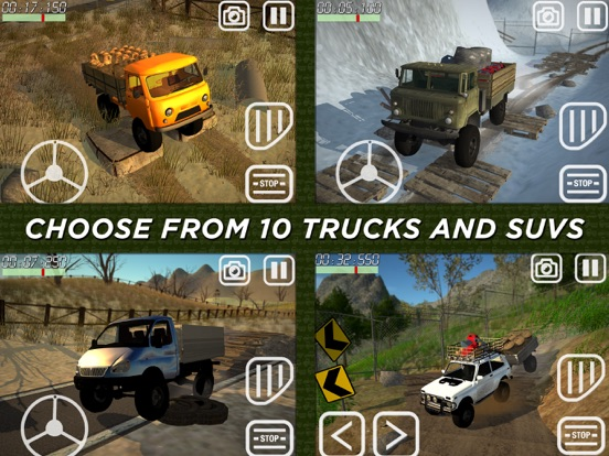 4x4 Delivery Truckerのおすすめ画像6