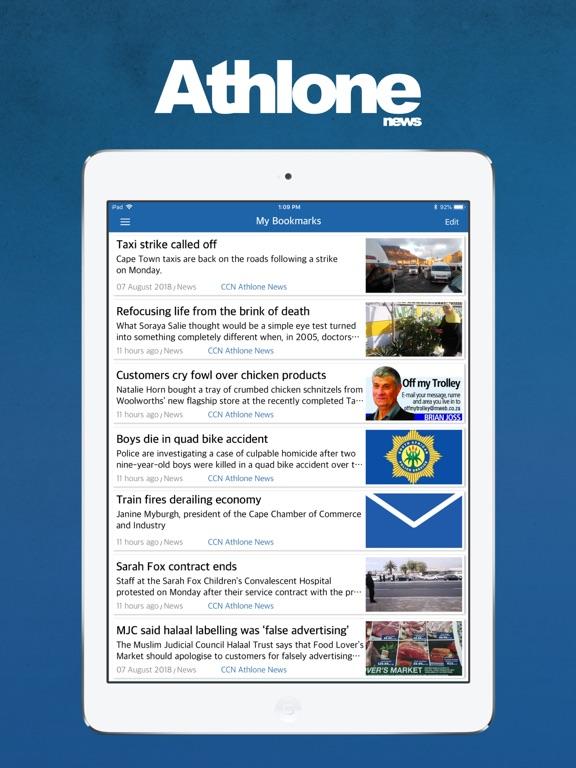 iPad Image of Athlone News