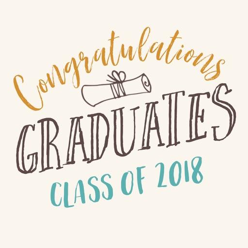 Congratulations graduation card 2018