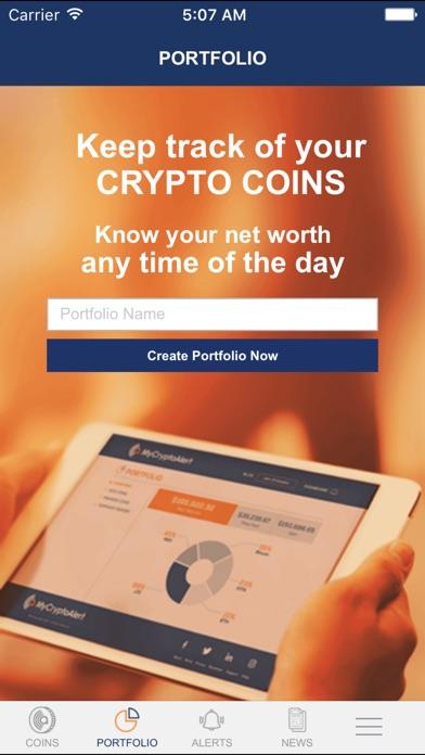 MyCryptoAlert Screenshots
