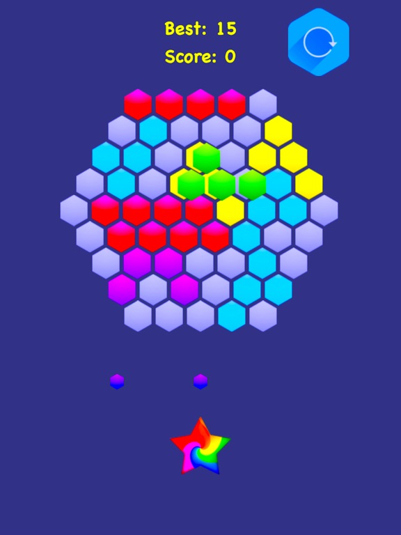 Hexagonal Merge - Premium. screenshot 7