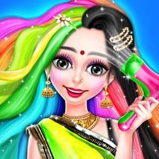 Activities of Indian Girl Hair Designer DIY