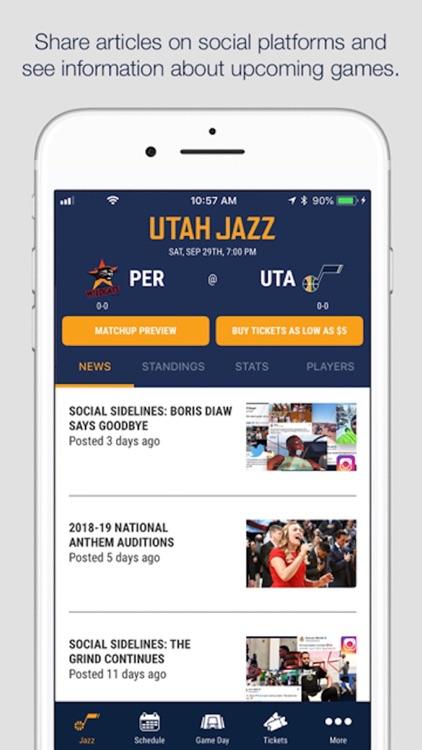 Utah Jazz + Vivint Arena screenshot-3