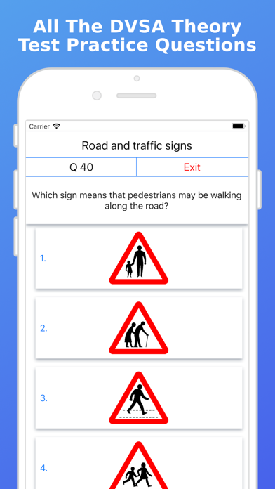 UK 2019 Driving Theory Test FV screenshot one