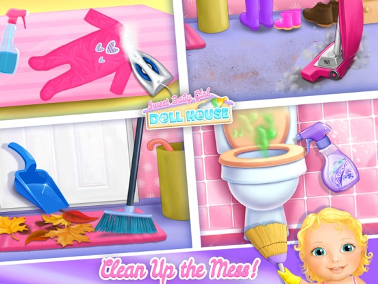 Sweet Baby Girl Dollhouse FULL screenshot 7