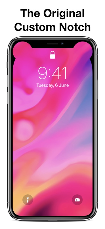 Iphone xs max notch wallpaper