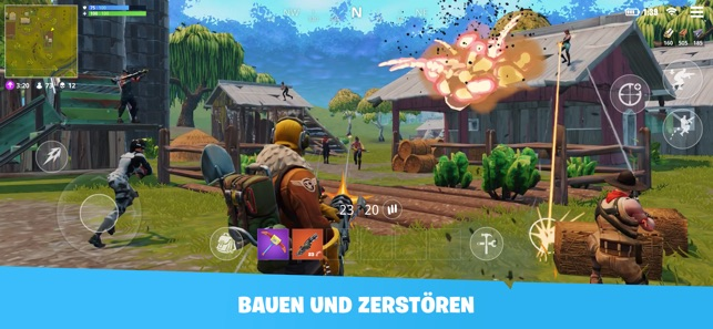 Fortnite Im App Store