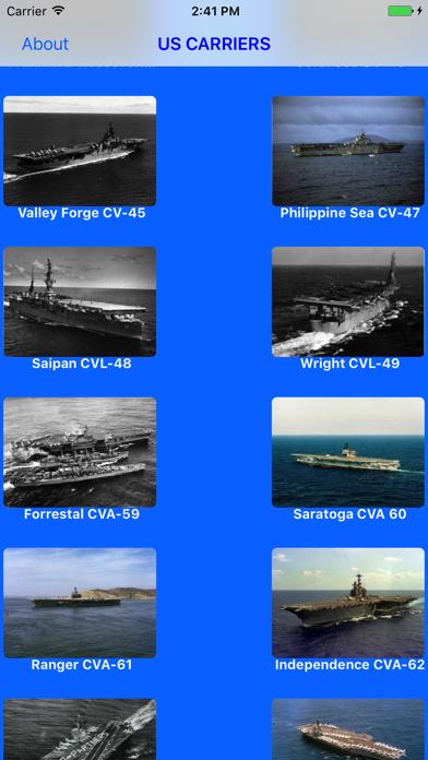 US Navy Aircraft Carriersのおすすめ画像1