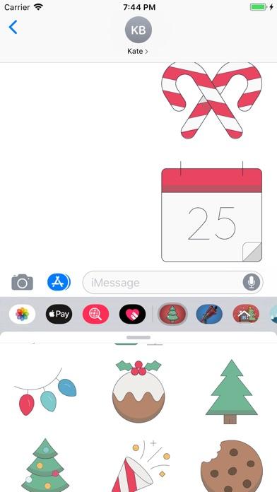 200+ Christmas Stickers screenshot 1