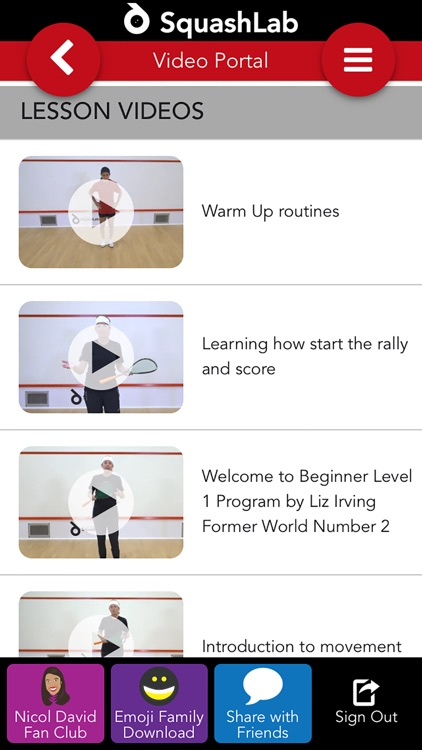 Squash Lab - Squash Training