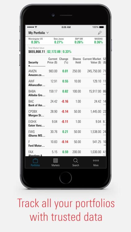 Morningstar for Investors screenshot-0