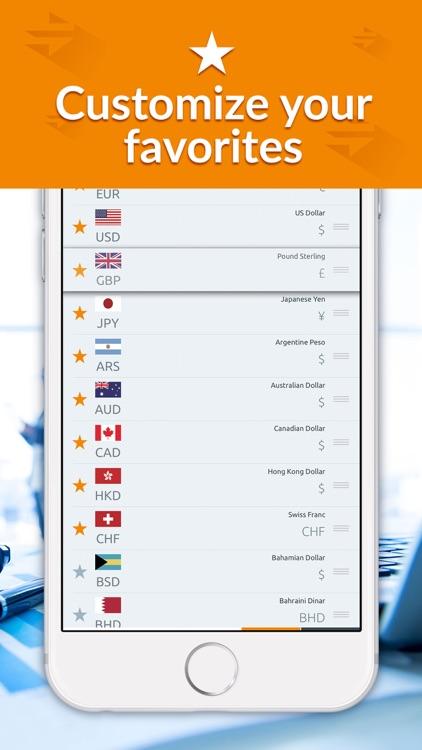 Currency converter - Money screenshot-4