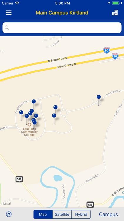 Lakeland Community College Campus Map.Mylakeland Mobile By Lake County Community College District