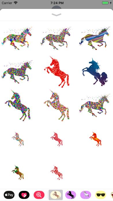 Legendary Unicorn Stickers screenshot one