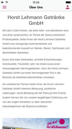 Horst Lehmann Getränke GmbH on the App Store