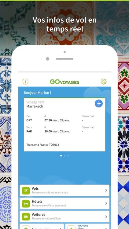 Go Voyages - Vols & Hôtels screenshot-3
