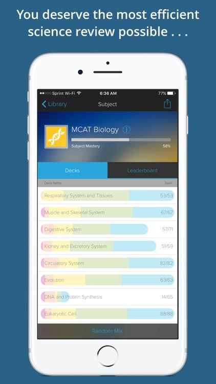 MCAT Exam Flashcards Genius screenshot-3