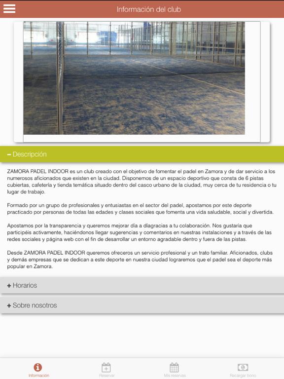 Zamora Padel screenshot 7