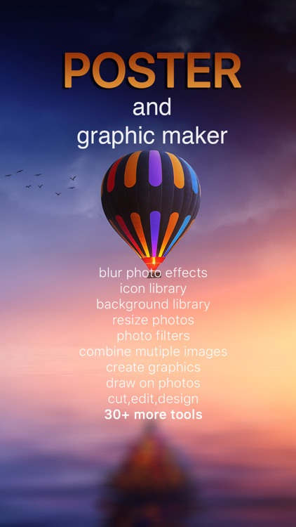 Poster & Graphic Maker - Create Photo Backgrounds screenshot-4