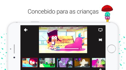 Screenshot for YouTube Kids in Portugal App Store