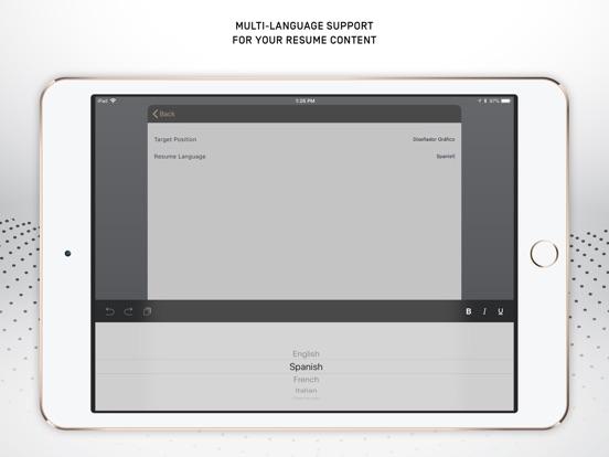 Resumer: CV & Resume builder screenshot 12