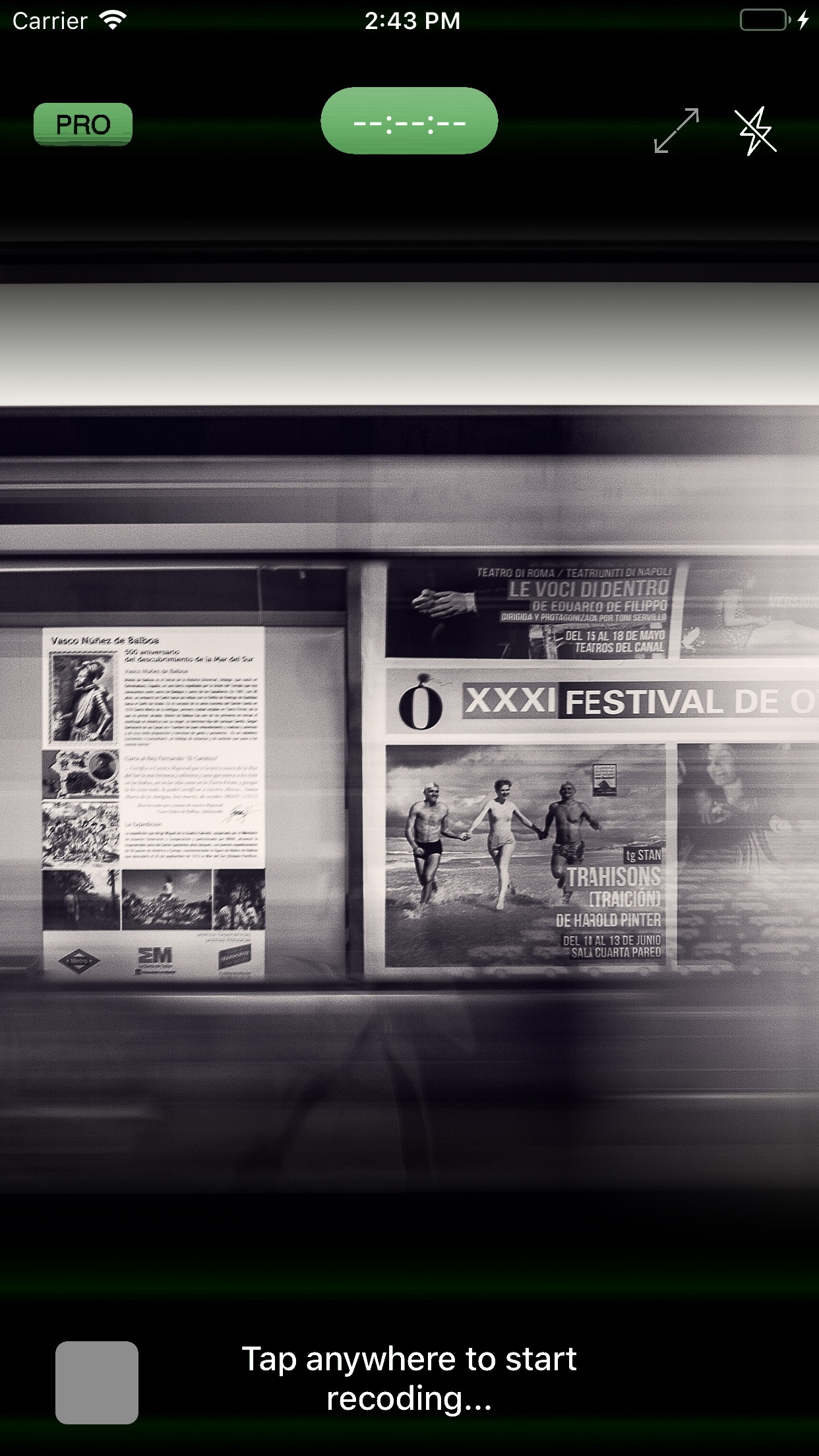 Screenshot do app Carousel Camera