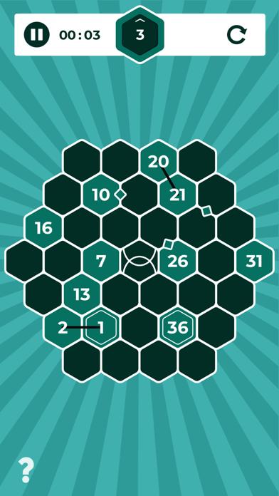 Number Mazes: Rikudo Puzzlesのおすすめ画像2