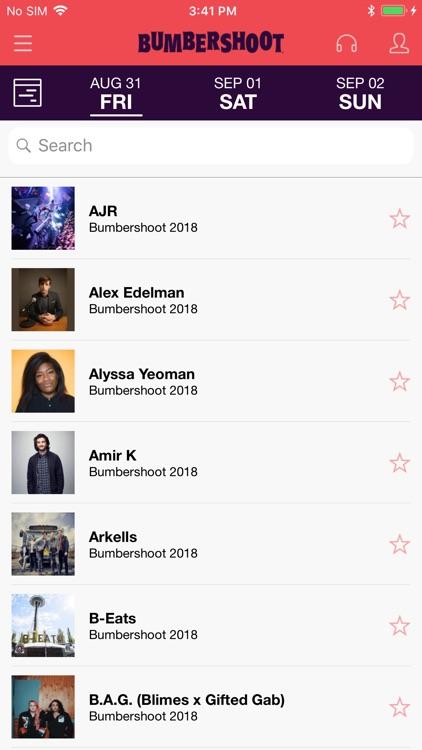Bumbershoot 2018 screenshot-3