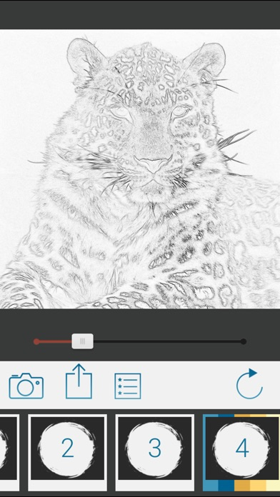 Screenshot #2 for Photo To Pencil Sketch Drawing
