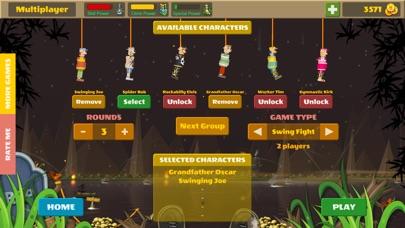 Rope Heroes : Hole Runner Game screenshot 1