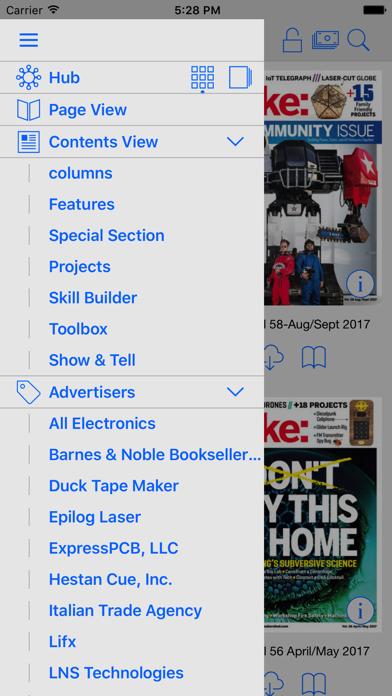 Screenshot 4 for Make's iPhone app'
