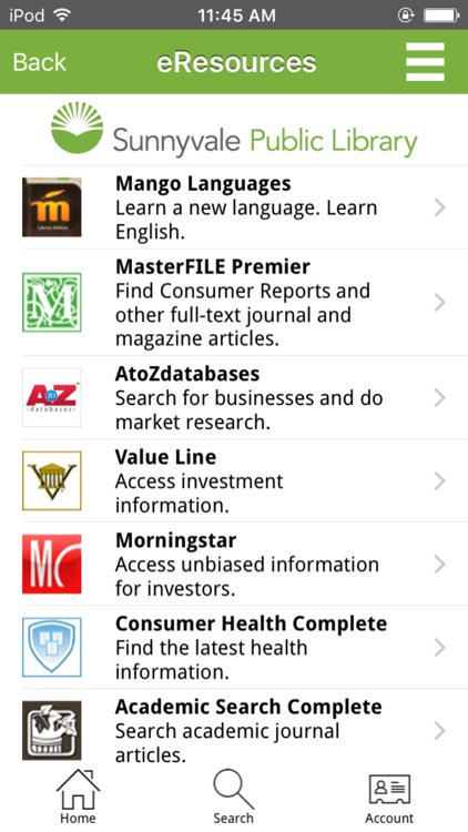 Sunnyvale Public Library screenshot-4