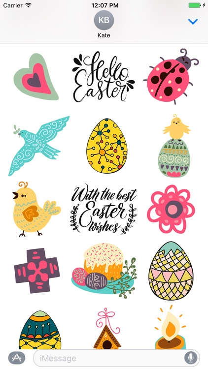 Easter Goodness Sticker Emojis