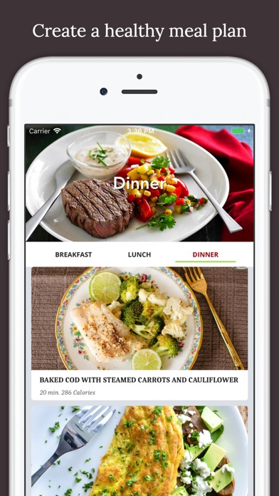 Fitness Chef Healthy Food - Calisthenics Meal Plan screenshot one