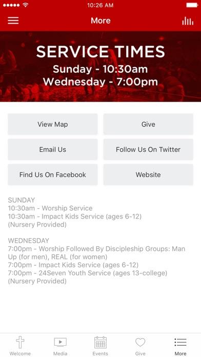 Rescue Church App screenshot 3
