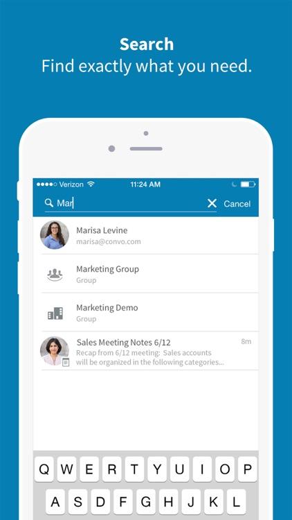 Convo – Team collaboration screenshot-4