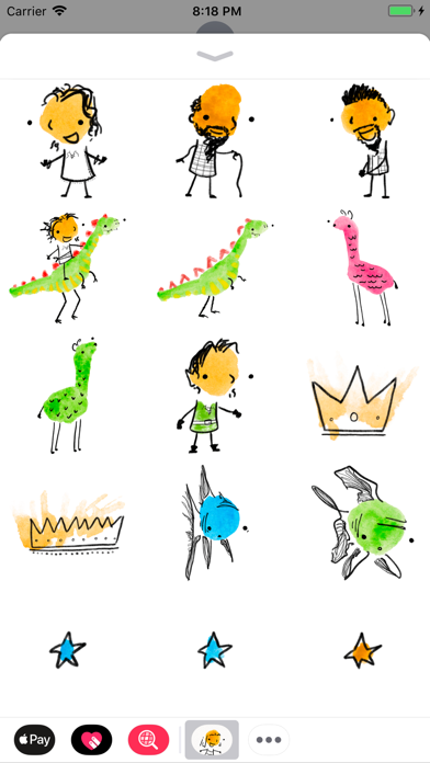 Inky Stickers screenshot three