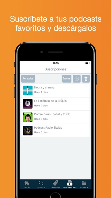 download Radio y Podcast iVoox apps 3