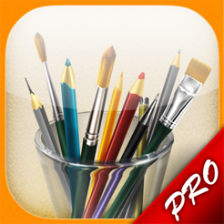 ‎MyBrushes Pro: Paint and Draw