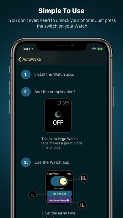 AutoWake. Smart Sleep Alarm Screenshot 5