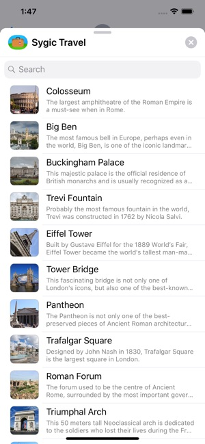 sygic travel maps offline on the app store
